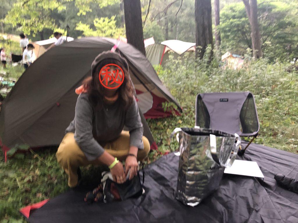 秘境祭2019テント