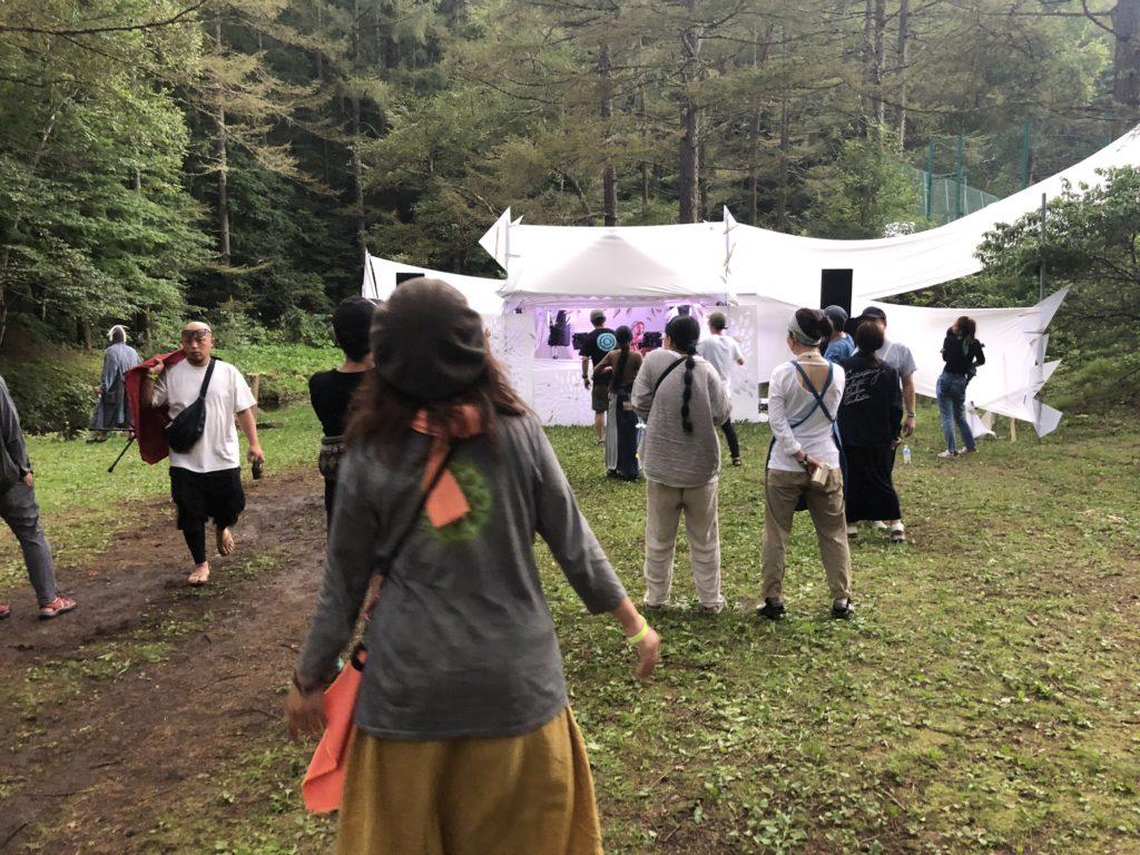 秘境祭2019のダンスフロア
